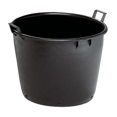 Vaso da coltura Linea professionale STEFANPLAST in plastica colore nero H 44 cm, Ø 60 cm