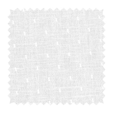 Tessuto Penelope plum bianco 315 cm