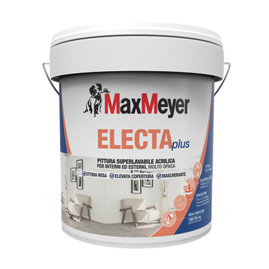 Pittura murale ElectaPlus MaxMeyer 14 L bianco