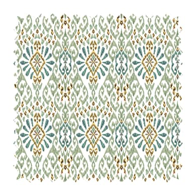 Tessuto Samarcanda maiolica verde 280 cm