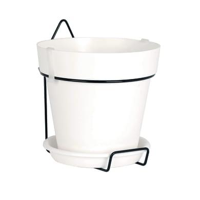 Vaso da sospendere ARTEVASI Capri in plastica bianco H 18.9 cm,Ø 20 cm