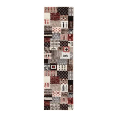 Tappeto persiano Orient shiraz patchwork , multicolor, 200x300 cm