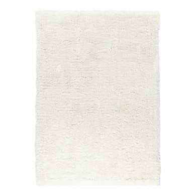 Tappeto Shaggy Benyurain , bianco, 160x230 cm