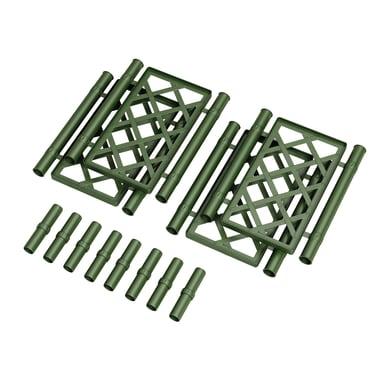 Traliccio fisso in plastica (polipropilene) Kit spalliera L 43 x H 52 cm, Sp 50 mm