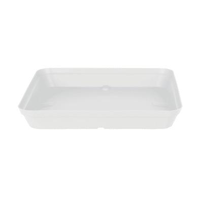 Sottovaso in polipropilene colore bianco P 38 x L 45 cm Ø 38 cm