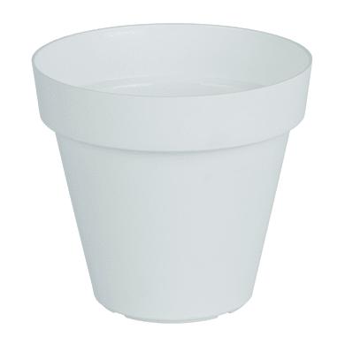 Vaso Capri in plastica H 13 cm, Ø 14 cm