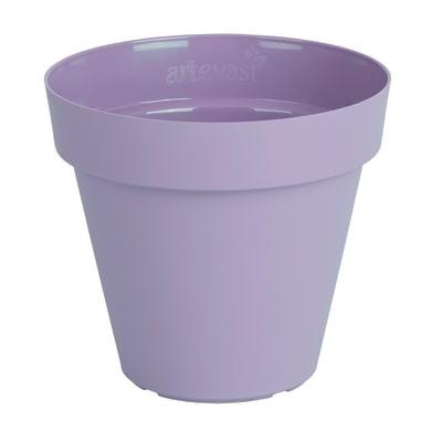 Vaso Capri ARTEVASI in polipropilene colore lilla H 18.9 cm, Ø 20 cm