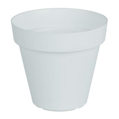 Vaso Capri ARTEVASI in polipropilene colore bianco H 27 cm, Ø 30 cm