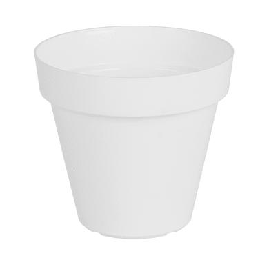 Vaso Capri ARTEVASI in polipropilene colore bianco H 50 cm, Ø 60 cm