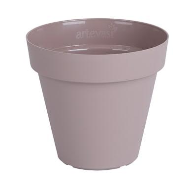 Vaso Capri ARTEVASI in polipropilene colore tortora H 50 cm, Ø 60 cm