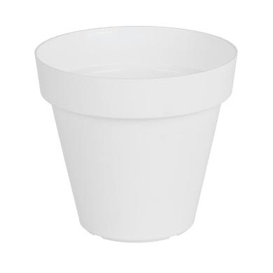 Vaso Capri ARTEVASI in polipropilene colore bianco H 66.7 cm, Ø 80 cm