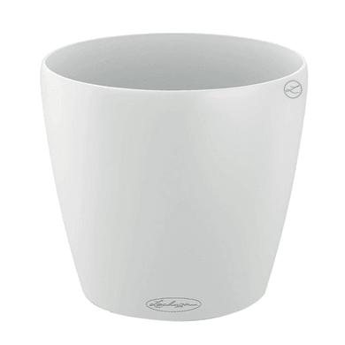 Vaso Classico Color LECHUZA in polipropilene bianco H 33 Ø 35 cm