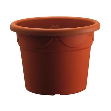 Vaso Corinto in plastica colore cotto H 60 cm, Ø 85 cm