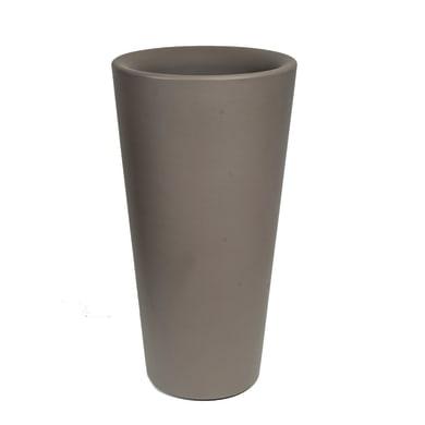Vaso Dana in plastica H 78 cm, Ø 40 cm