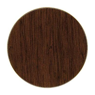 Piano tavolo ø 70 cm in legno lucido Sp 17 mm