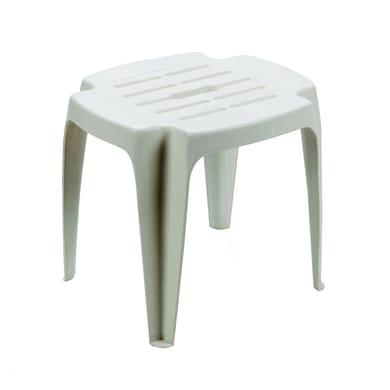 Tavolino da giardino rettangolare Calypso in polipropilene L 37 x P 42 cm