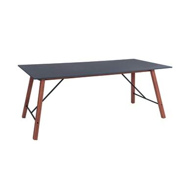 Tavolo da giardino rettangolare Maison con piano in fibrocemento L 90