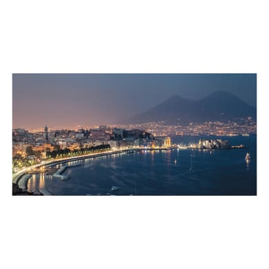 Quadro su tela Golfo di Napoli 50x100 cm