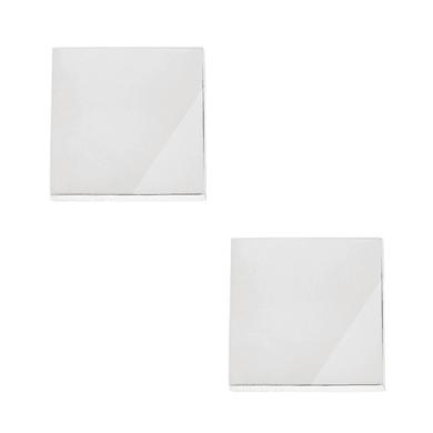 Pomolo in zama grigio / argento cromato Ø 30 mm