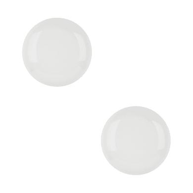 Pomolo in porcellana bianco Ø 35 mm