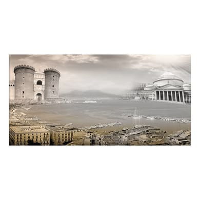 Quadro su tela Napoli 60x120 cm