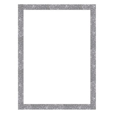 Cornice INSPIRE Brilla argento per foto da 50X70 cm