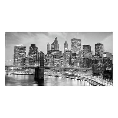 Quadro su tela New York grey 30x60 cm