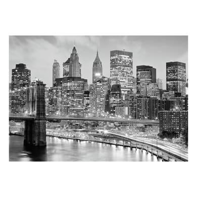 Quadro su tela New York grey 75x115 cm