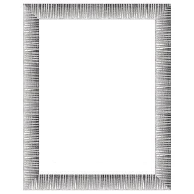 Cornice INSPIRE Soho argento per foto da 70x100 cm