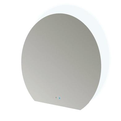 Specchio con illuminazione integrata bagno ovale Bluetooth + Touch L 109 x H 100 cm
