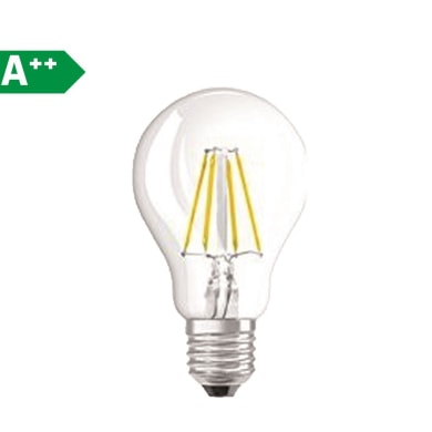 Lampadina Filamento LED E27 goccia bianco caldo 4W = 470LM (equiv 40W) 320° OSRAM