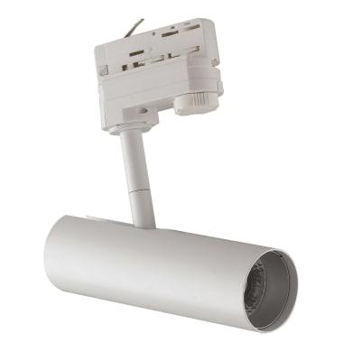 Proiettore Rocket per binario trifase bianco LED integrato 7 W