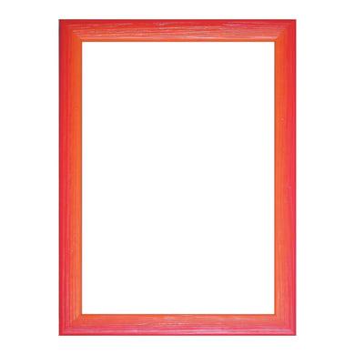 Cornice INSPIRE Bicolor rosso<multisep/>arancione per foto da 70x100 cm