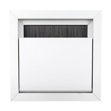 Copricavo per tavolo in alluminio grigio / argento Ø 60 mm