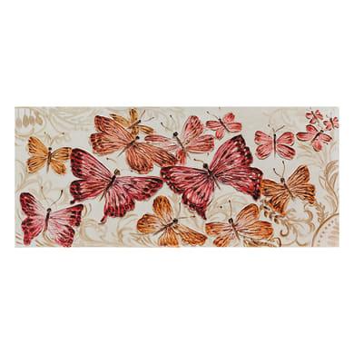 Quadro su tela Farfalle 150x65 cm