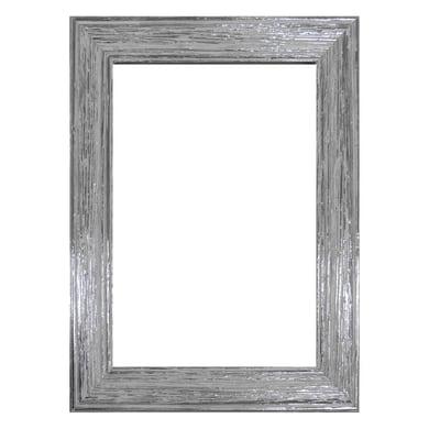 Cornice INSPIRE Louise argento per foto da 50X70 cm