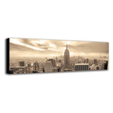 Quadro su tela Empire Grey 40x125 cm