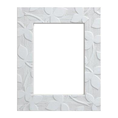 Cornice INSPIRE Varenne bianco per foto da 15X20 cm