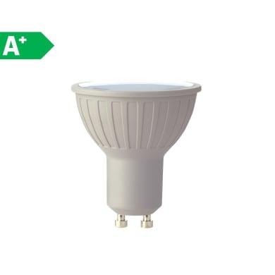 Lampadina LED GU10 faretto bianco caldo 6W = 460LM (equiv 50W) 100° LEXMAN