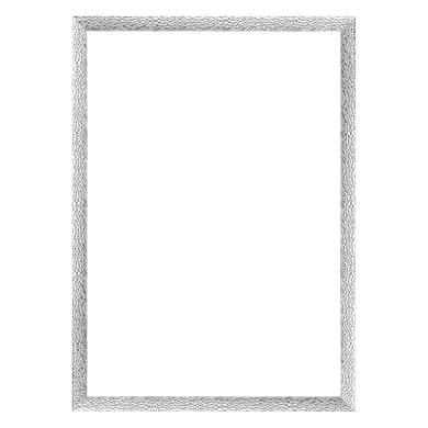 Cornice INSPIRE London argento per foto da 70X100 cm