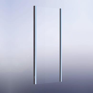Lato fisso Namara 70 cm, H 195 cm in vetro temprato, spessore 8 mm trasparente satinato