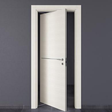Porta rototraslante Hollow bianco matrix L 80 x H 210 cm sinistra