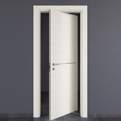 Porta rototraslante Hollow bianco matrix L 80 x H 210 cm destra
