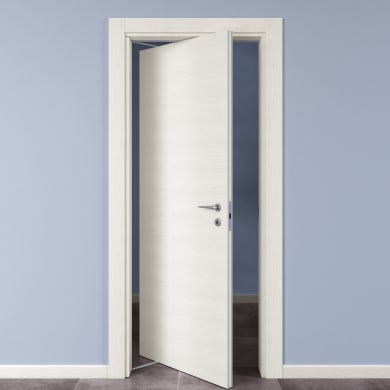 Porta rototraslante Star bianco matrix L 80 x H 210 cm sinistra