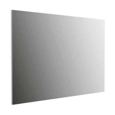 Specchio con faretto bagno rettangolare Montecarlo L 100 x H 70 cm