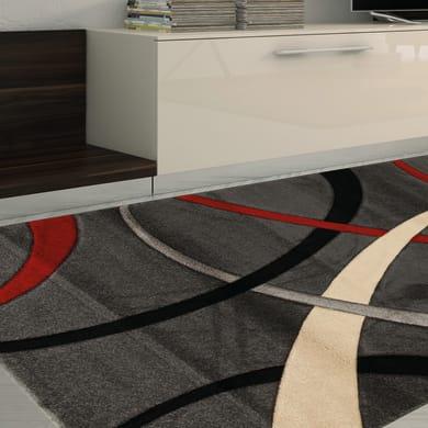 Tappeto Terra , rosso, 160x230 cm
