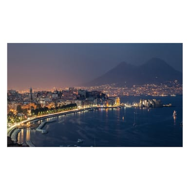 Quadro su tela Golfo Di Napoli 80x135 cm