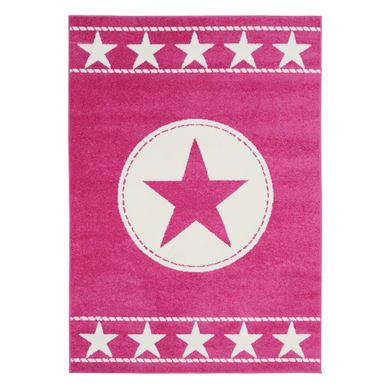 Tappeto Star kids , rosa, 60x120 cm