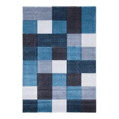 Tappeto Opera square , blu, 133x190 cm