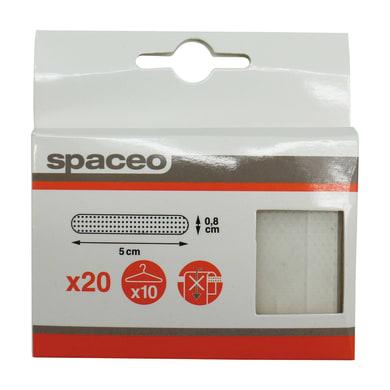 Set grucce Antiscivolo per gruccia L 5 x H 0.1 cm trasparente